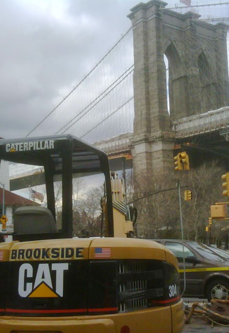 Brookside and the Brooklyn Bridge